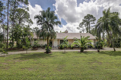 Royal Palm Beach Single Family Home For Sale: 4748 Avocado Boulevard