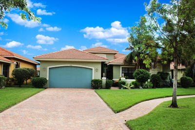 Boynton Beach Single Family Home For Sale: 7041 Caviro Lane