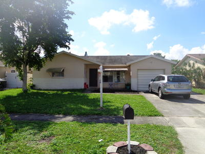 Boca Raton Single Family Home For Sale: 9006 SW 7th Street