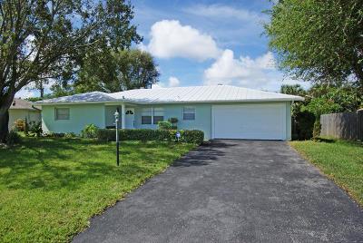 Jupiter Single Family Home For Sale: 1506 Venus Avenue