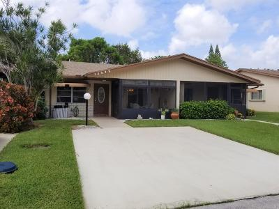 Delray Beach Single Family Home Contingent: 14579 Lucy Drive