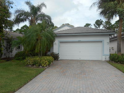 Boynton Beach Single Family Home For Sale: 8433 Siciliano Street