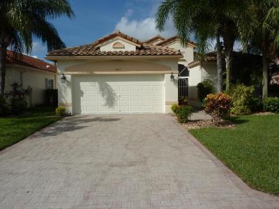 Lake Worth Single Family Home For Sale: 9857 Torino Drive