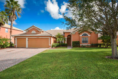 Stuart Single Family Home For Sale: 2000 SW Panther Trace
