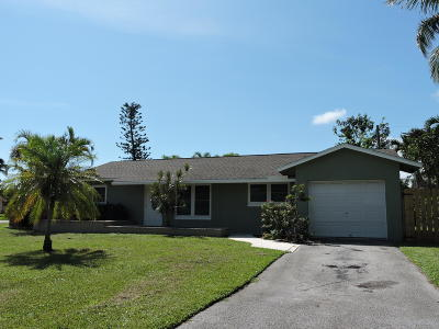 Delray Beach Single Family Home For Sale: 668 Eagle Circle