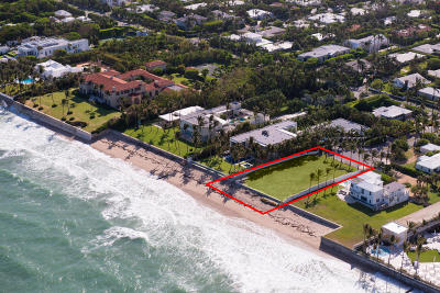 Palm Beach FL Residential Lots & Land For Sale: $18,950,000