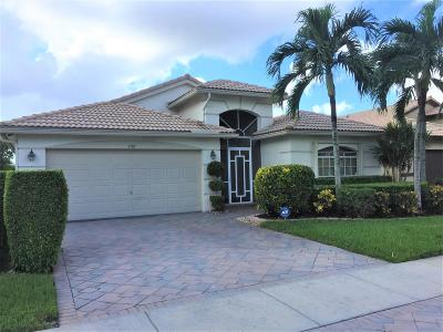 Boynton Beach Single Family Home For Sale: 5707 Royal Club Drive