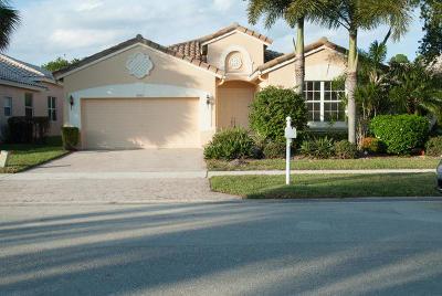 Lake Worth Single Family Home For Sale: 9939 Mantova Drive