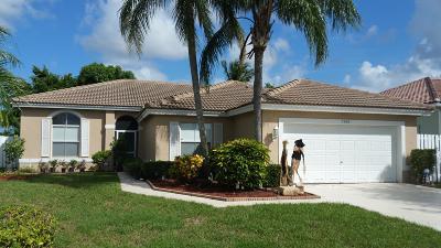Lake Worth Single Family Home Contingent: 5986 Las Colinas Circle