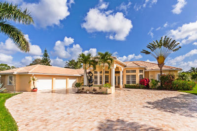 West Palm Beach Single Family Home For Sale: 8666 Marlamoor Lane