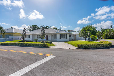 West Palm Beach Single Family Home For Sale: 200 Flagler Lane