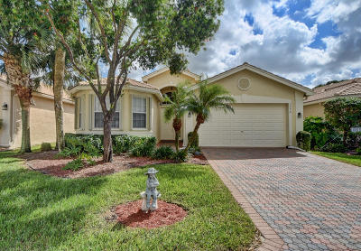 Delray Beach Single Family Home For Sale: 7274 Morocca Lake Drive