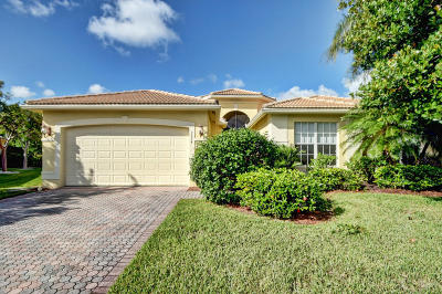 Lake Worth Single Family Home For Sale: 7774 Marquis Ridge Lane
