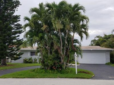 Fort Lauderdale Single Family Home Contingent: 5801 NE 20th Avenue