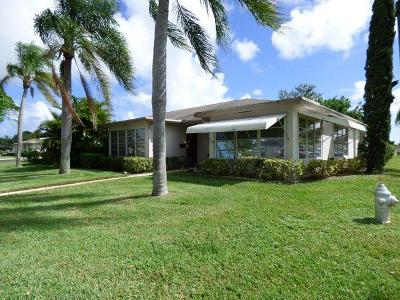 Delray Beach Single Family Home For Sale: 1277 High Point Place S #C