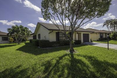 Lake Worth Single Family Home For Sale: 6254 Blue Baneberry Lane