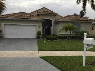 Boynton Beach Single Family Home For Sale: 9305 Cove Point Circle