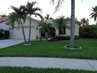 Boca Raton Single Family Home For Sale: 7566 Solimar Circle