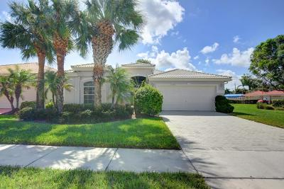Boynton Beach Single Family Home Contingent: 12558 Coral Lakes Drive