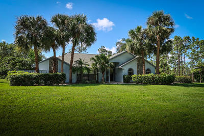 Palm Beach Gardens Single Family Home For Sale: 14409 69th Drive