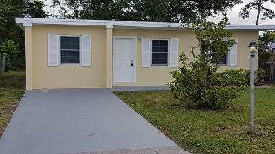 Delray Beach Single Family Home For Sale: 5198 Madison Road