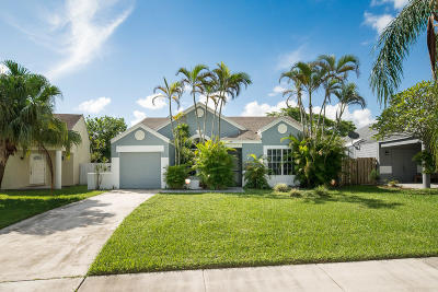 Boca Raton Single Family Home For Sale: 8438 Dynasty Drive
