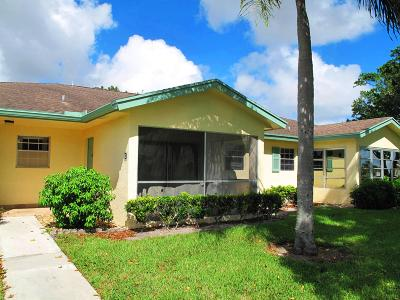 Delray Beach Single Family Home Contingent: 5264 Lakefront Boulevard #B