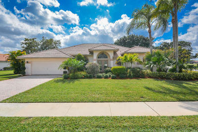 Boca Raton Single Family Home For Sale: 11143 Boca Woods Lane