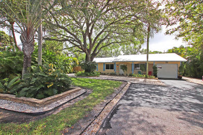 Tequesta Single Family Home Contingent: 406 Dover Circle