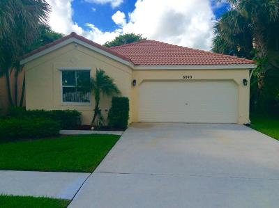Lake Worth Single Family Home For Sale: 6040 Oak Bluff Way