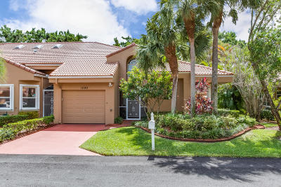 Boca Raton Single Family Home For Sale: 11140 S 180th Court