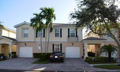 Palm Beach Gardens Townhouse For Sale: 308 Salinas Drive