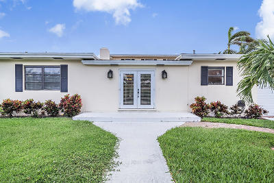 West Palm Beach Single Family Home Contingent: 126 Beverly Road