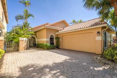 Boca Raton Single Family Home For Sale: 17358 E Via Capri
