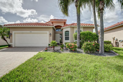 Port Saint Lucie Single Family Home Contingent: 340 NW Toscane Trail