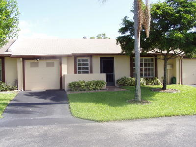 Delray Beach Single Family Home For Sale: 5352 Viburnum Circle