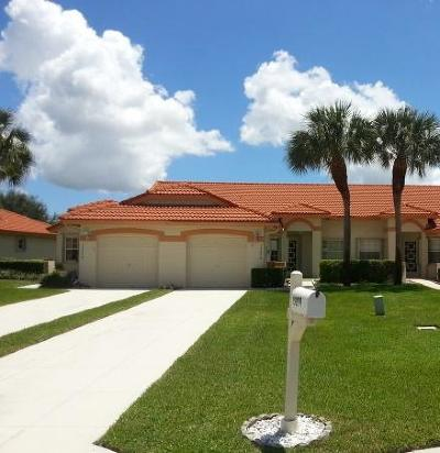 Delray Beach Single Family Home For Sale: 15274 W Tranquility Lake Drive