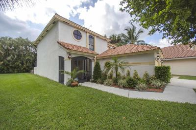 Boynton Beach Single Family Home For Sale: 12411 Summer Springs Drive