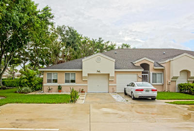 Boca Raton Single Family Home For Sale: 9112 Vineland Court #A