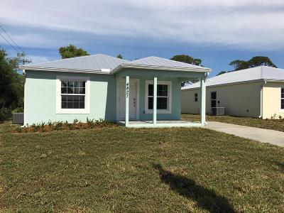 Stuart Single Family Home For Sale: 4827 SE Isabelita Avenue