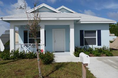 West Palm Beach Single Family Home For Sale: 527 18th Street