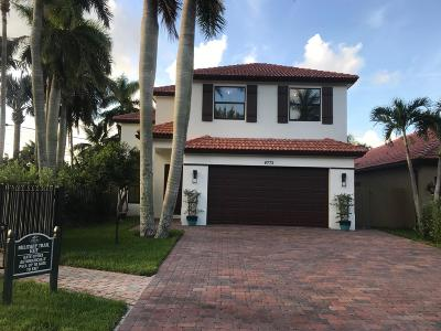 Boynton Beach Single Family Home For Sale: 4772 Gateway Gardens Drive
