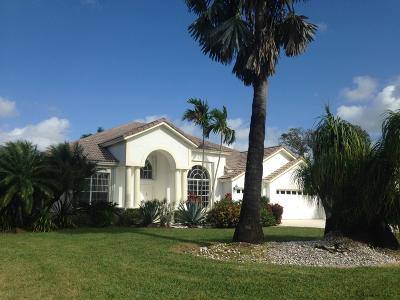 Lake Worth Single Family Home For Sale: 4401 Hunting Trail