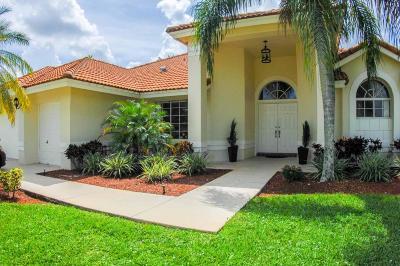 Boca Raton Single Family Home For Sale: 10512 Milburn Lane