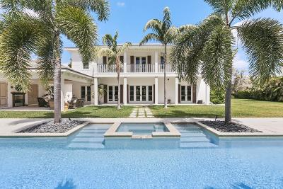 West Palm Beach Single Family Home For Sale: 122 Forest Hill Boulevard