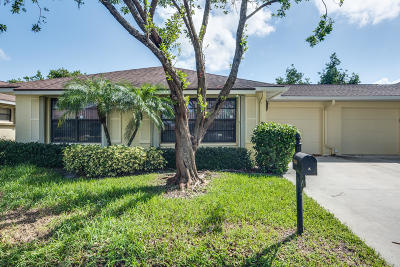Boynton Beach Single Family Home For Sale: 9840 Parkinsonia Tree Trail #A