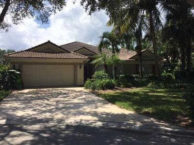 Jupiter Single Family Home For Sale: 282 S Flamingo Point