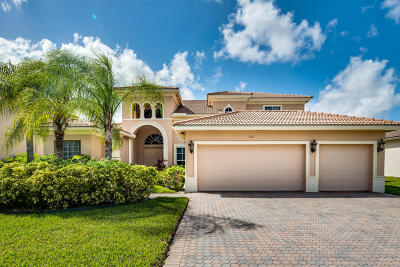 West Palm Beach Single Family Home For Sale: 2957 Fontana Place