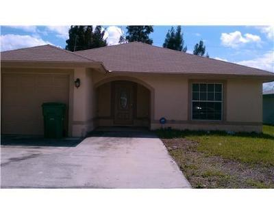 West Palm Beach Single Family Home For Sale: 1133 W 32nd Street
