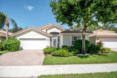 Boynton Beach Single Family Home For Sale: 7311 Lugano Drive